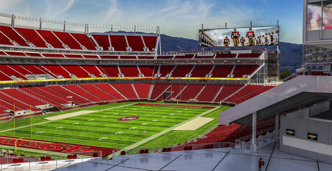 Levi's Stadium - San Francisco BIM Construction by Sanveo