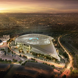 LA Ram Stadium BIM Electrical Construction - Sanveo