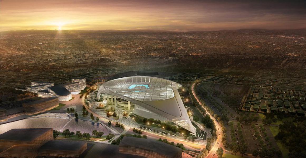 LA Rams Stadium BIM Electrical Construction - Sanveo